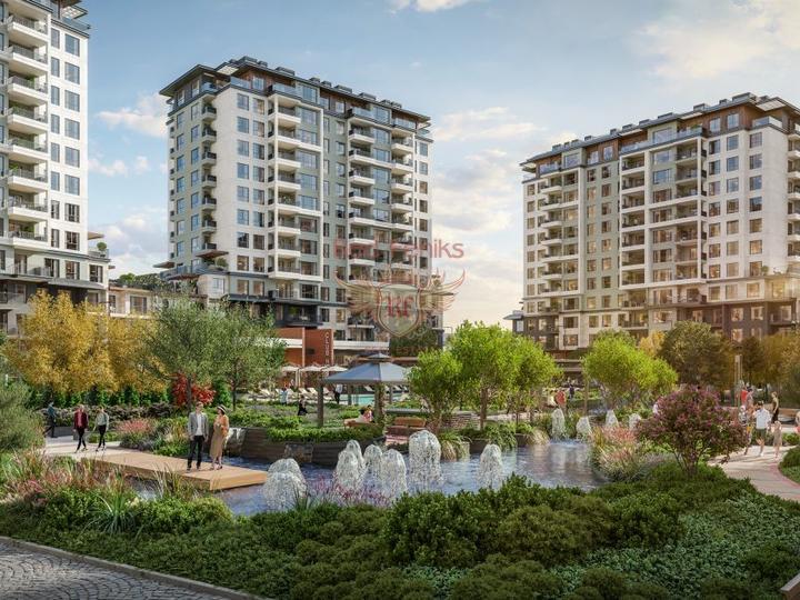 Эксклюзивный жилой комплекс расположен на береговой линии на территории 4100 м2.