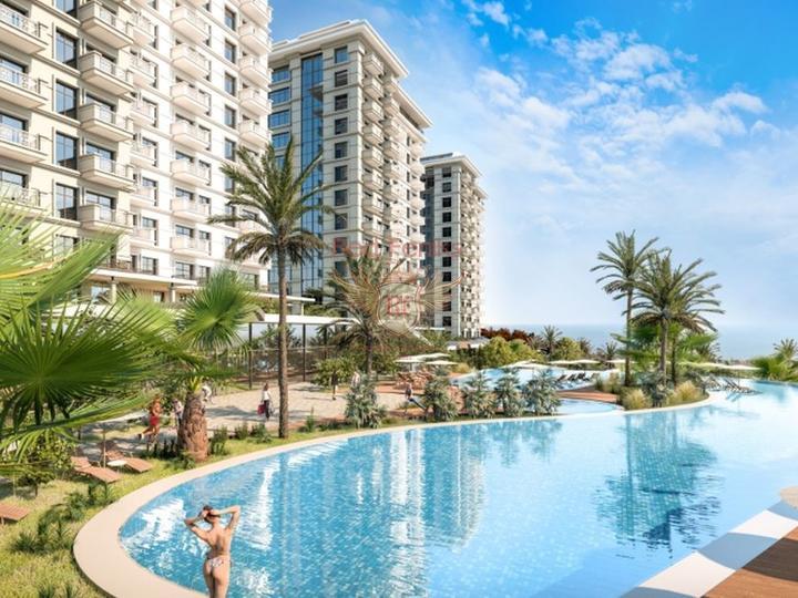 Элитные квартиры в новом жилом комплексе, Квартира в Анталия Турция