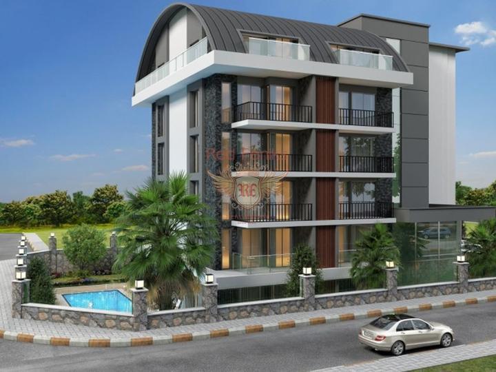 Квартира 2+1 в ЖК отельного типа, Квартира в Анталия Турция