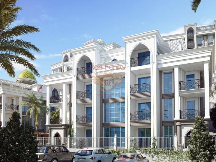 3+1 Дуплекс апартаменты. Море-300м. Чалыш, Фетхие, Квартира в Фетхие Турция
