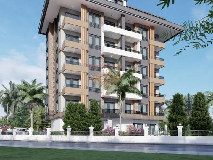 Новая двухуровневая квартира 4+1 в центре Фетхие, купить квартиру в Фетхие