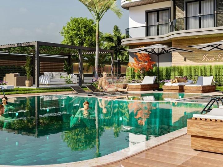 Апартаменты 1+1 в Кесиккапы Фетхие, Квартира в Фетхие Турция