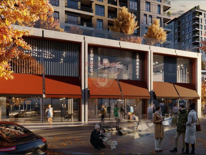 Пятикомнатная дублекс квартира в 300 м от моря с возможностью получения гражданства для всех членов семьи, Квартира в Анталия Турция
