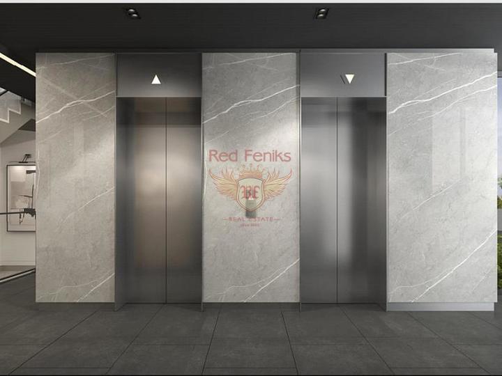 Двухуровневая квартира с 3 спальнями и 3 ванными комнатами в Оваджыке-Фетхие.