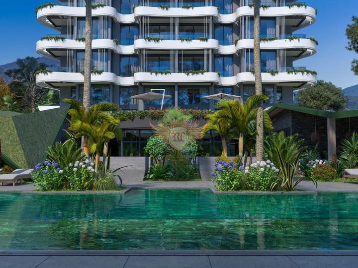 Полностью меблированная вилла с 4 спальнями в самом красивом месте Турции – Олюдениз.
