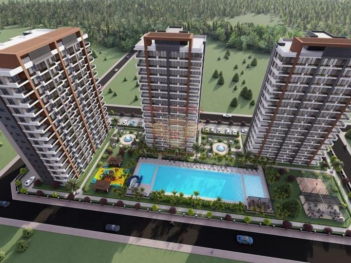 Apartment 1 + 1 in Calishe Fethiye For Sale, apartments in Turkey, apartments with high rental potential in Turkey buy, apartments in Turkey buy