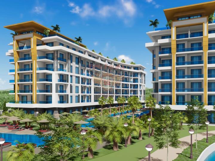 3 + 1 Triplex Villa Walking Distance to Calis Fethiye Beach for sale, Turkey real estate, property in Turkey, Фетхие house sale