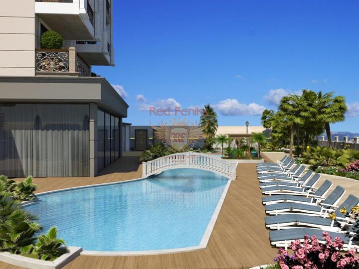 Частная роскошная вилла на продажу в Калкане Турция, Дом в Калкан Турция