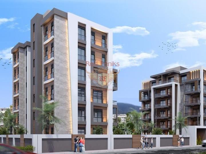 Супер предложение квартир в Анталии, Квартира в Анталия Турция