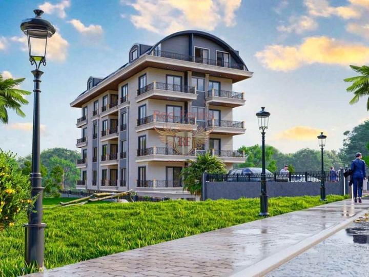 Высокодоходный дом из 15 Квартир разных планировок в 200 метрах от моря, купить коммерческую недвижимость в Анталия