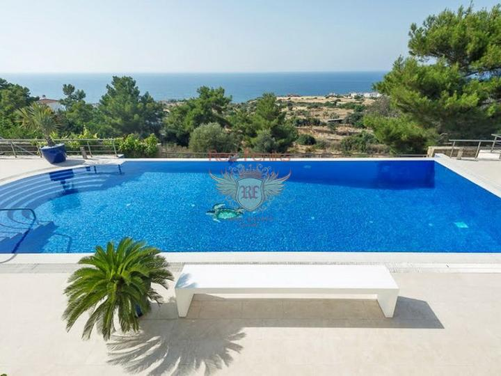 Detached and duplex villas in complex with swimming pool for sale, Antalya house buy, buy house in Turkey, sea view house for sale in Turkey