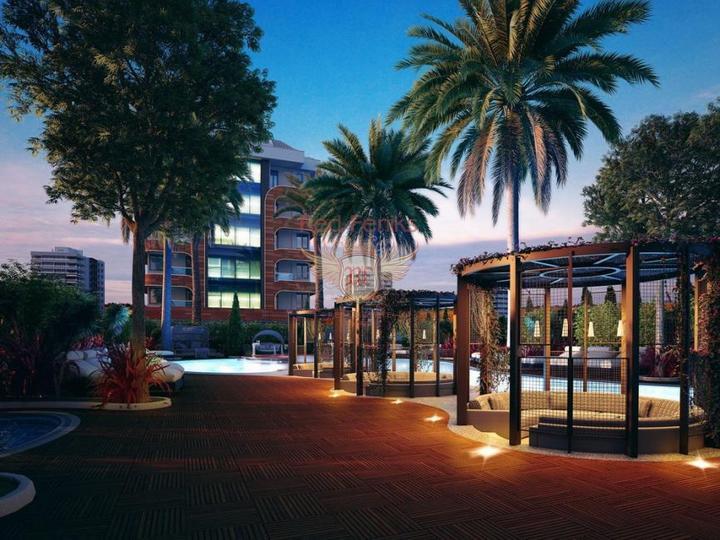 Эксклюзивные дуплекс виллы 3+1. Новый комплекс. Алтынкум, Дидим, Дом в Алтынкум Турция