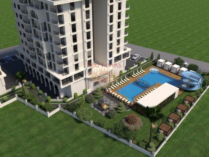 For Sale Duplex apartment 2 + 1 on the first coastline of Fethiye-Calis, Turkey real estate, property in Turkey, flats in Fethiye, apartments in Fethiye
