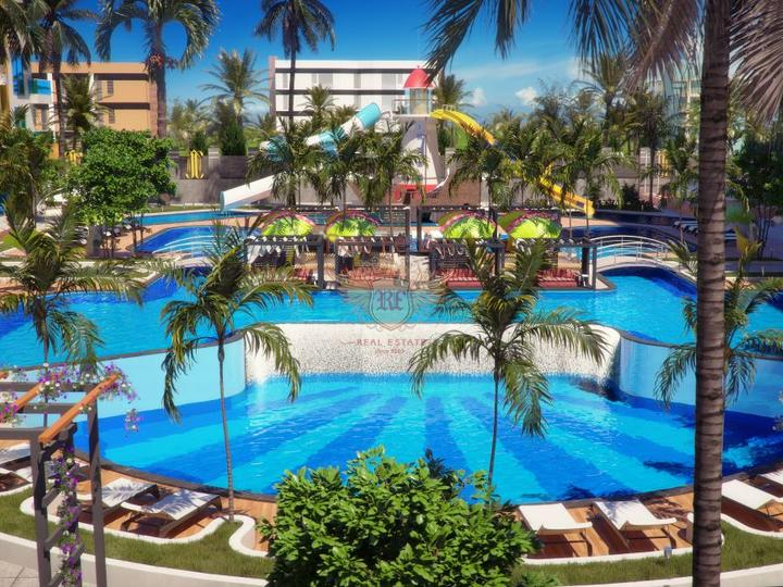 Furnished 3 + 1 Villa in Ovacik Fethiye with Mountain View for Sale, house near the sea Turkey