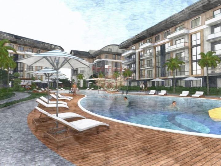 2+1 квартиры на продажу в новом здании в Фетхие-Турция, Квартира в Фетхие Турция