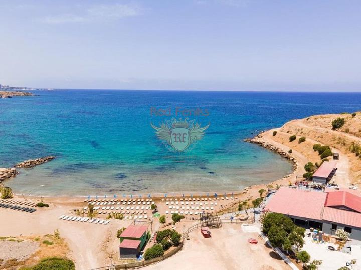 Апартаменты с 2-3 спальнями и садом + коммунальный бассейн, Квартира в Кирения Северный Кипр