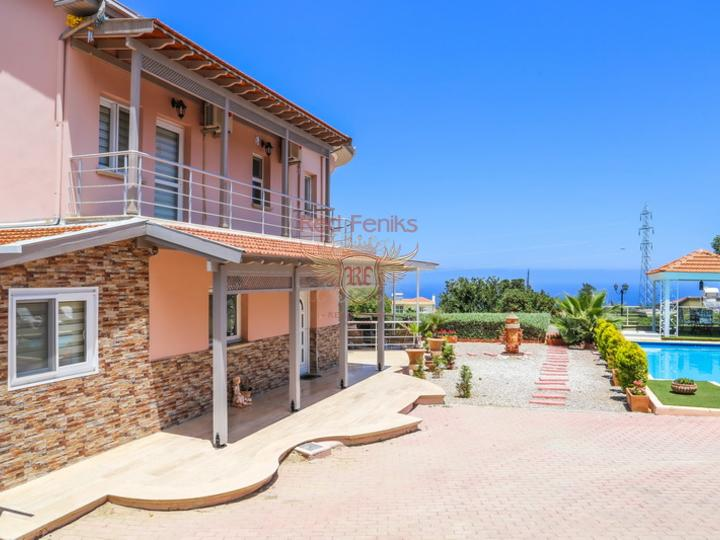 Residential complex of apartments in Kundu. Antalya, Antalya house buy, buy house in Turkey, sea view house for sale in Turkey