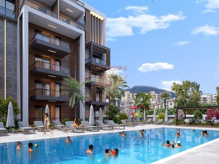 Современный жилой комплекс в Анталии, Квартира в Анталия Турция