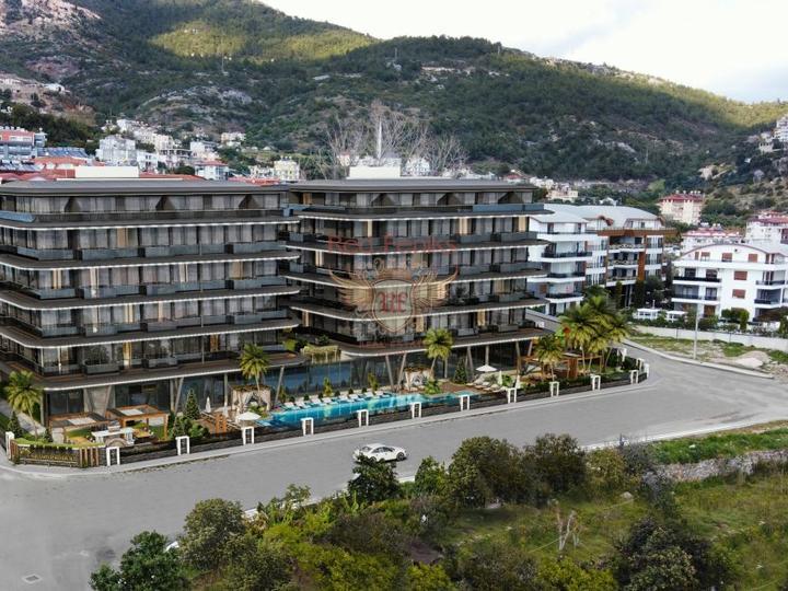 Продаются разноплановые квартиры в новом жилом комплексе в популярном районе Анталии -Коньяалты, Хурма, 1500м от моря.