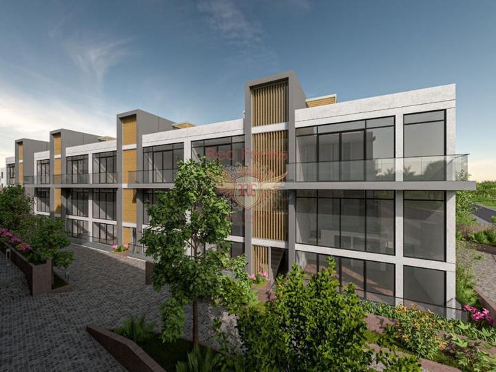 Двухэтажные виллы 4+1 162 кв.м на участке 420 кв.м на стадии строительства с рассрочкой, купить дом в Анталия