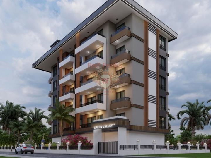 Квартира 3+1 в 10 минутах езды от пляжа Олюдениз. Оваджык, Фетхие, купить квартиру в Фетхие