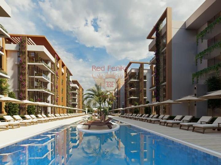 Новые виллы с частными бассейнами на первой линии в Бодруме, купить дом в Бодрум