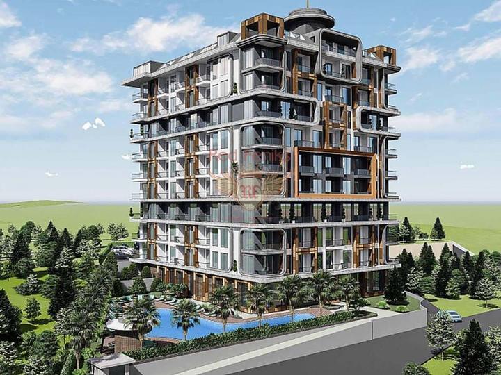 Вилла 4+1 330 кв.м с собстенным бассейном на участке 540 кв.м, купить дом в Анталия