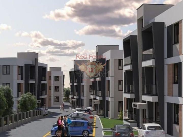Продается здание из 16 квартир и 1 коммерческого помещения в Коньяалты, купить коммерческую недвижимость в Анталия