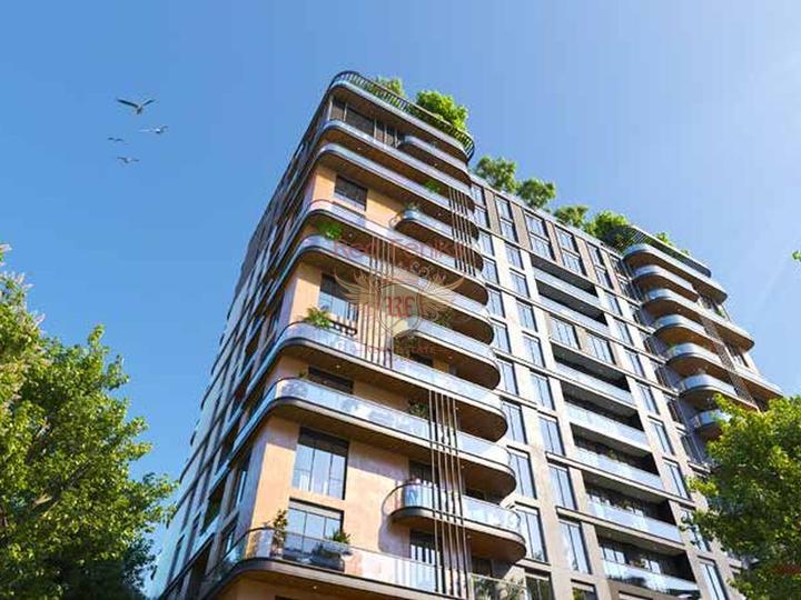 12 квартир 1+0 и 1+1 в Коньяалты 300 метрах от пляжа, купить коммерческую недвижимость в Анталия