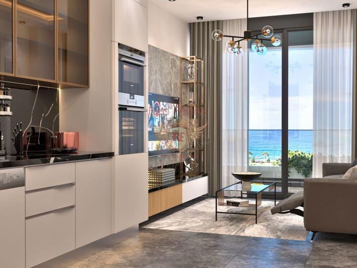 Spacious 4 + 1 villa in Calis Fethiye.