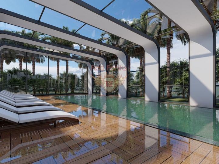 Роскошная вилла 4 + 1 в Оваджике-Фетхие с видом на горы, Вилла в Фетхие Турция