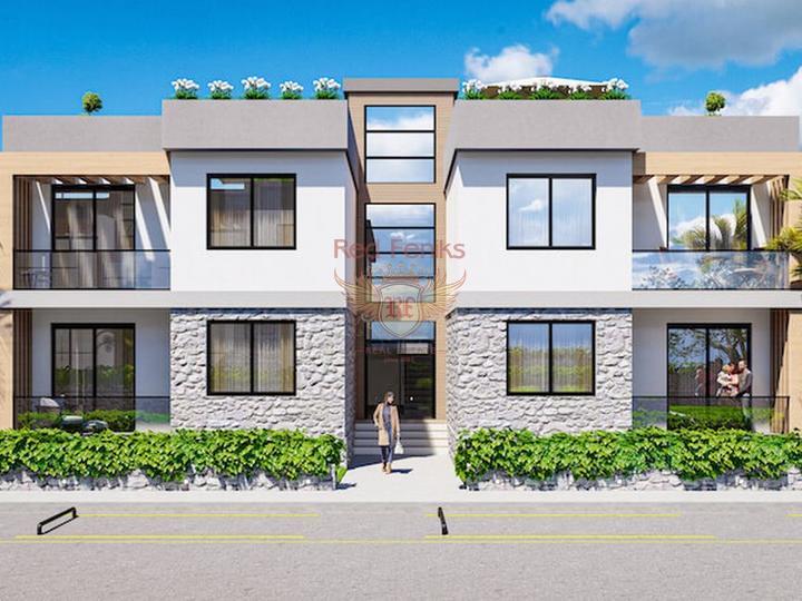 4 + 1 Villen im Hisaronu Center - Fethiye zu verkaufen, Fethiye Hausverkauf, Fethiye Haus kaufen, Haus in Turkey kaufen