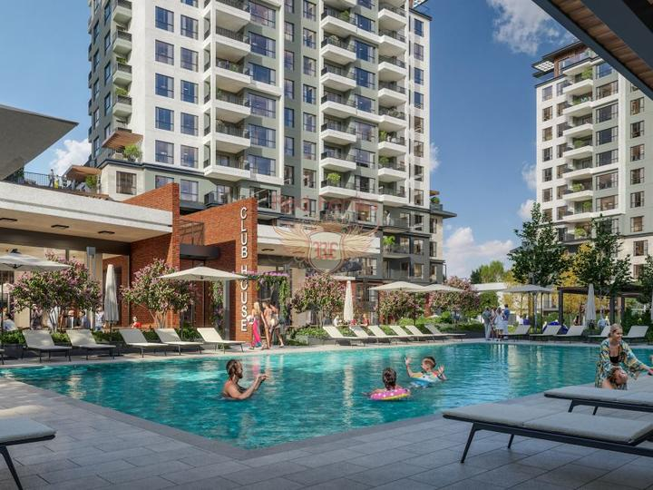 These beautiful villas enjoy a quiet location, just 800 meters from the famous Fethiye promenade.