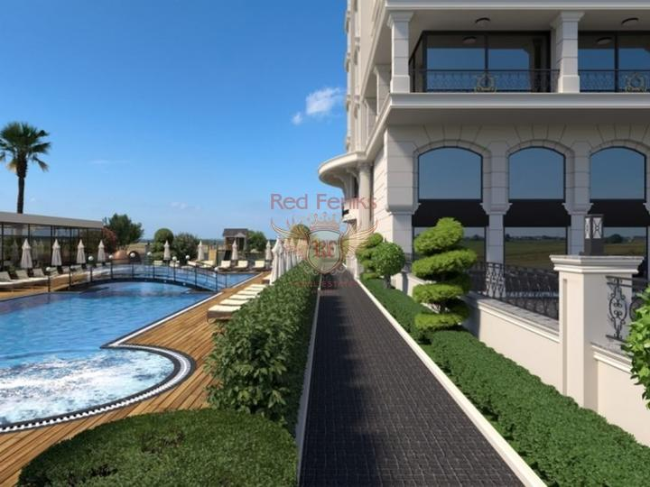 For Sale Duplex apartment 2 + 1 on the first coastline of Fethiye-Calis, apartments in Turkey, apartments with high rental potential in Turkey buy, apartments in Turkey buy