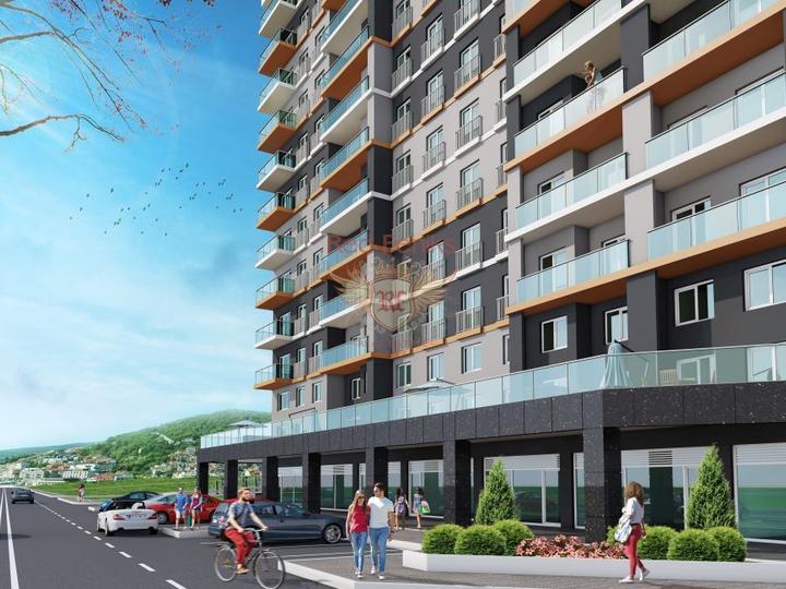 2-Комнатная Квартира В Ташяке – Фетхие С Видом На Море, Квартира в Фетхие Турция