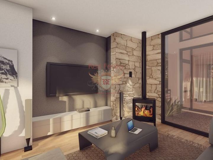 Residential complex of apartments in Kundu. Antalya, buy home in Turkey, buy villa in Antalya, villa near the sea Antalya