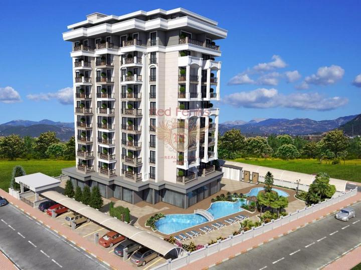 2+1 дуплекс квартира в Анталии, купить квартиру в Анталия