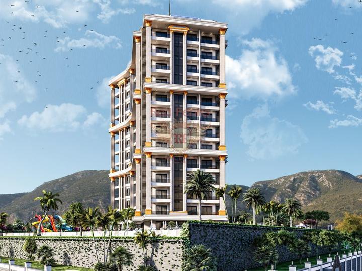 3+1 дуплекс апартаменты. Выгодная инвестиция. Алтынкум, Дидим, Квартира в Алтынкум Турция