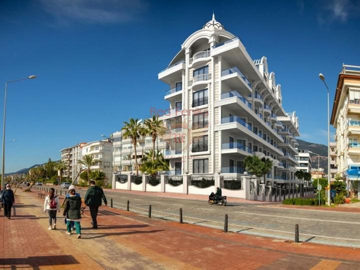 Элитные квартиры в новом жилом комплексе, купить квартиру в Анталия