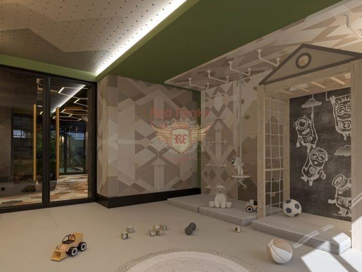 Трех комнатная квартира в Лимане, купить квартиру в Анталия