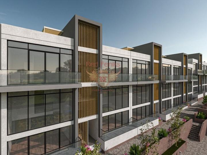 Двухэтажные виллы 4+1 162 кв.м на участке 420 кв.м на стадии строительства с рассрочкой, купить виллу в Анталия