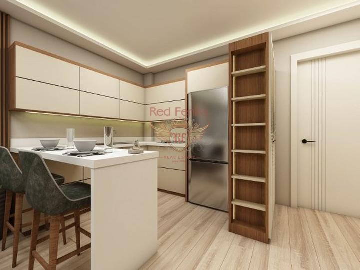 Первый этаж: -Комната для дом работницы -Гостиная -Кухня -Туалет -Терраса кухни 14 м2 -Терраса гостиная 15 м2 -Бассейн 27 м2 -Примерно 140 м2 сад Второй этаж -4 спальни в трех из них свои душевые -Техническая комната --8 m2 , 1,5 m2, 1,5 m2 три балкона Третий этаж -65 m2 зона отдыха, хобби и релакс помщение, при желании можно сделать Бар.