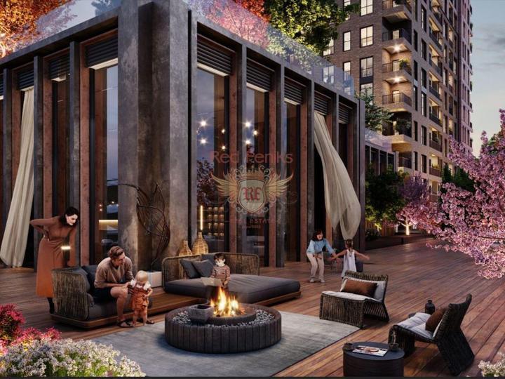 Две квартиры 2+1 в шаговой доступности от международной больницы Медикал Парк и в 150 метрах от моря.