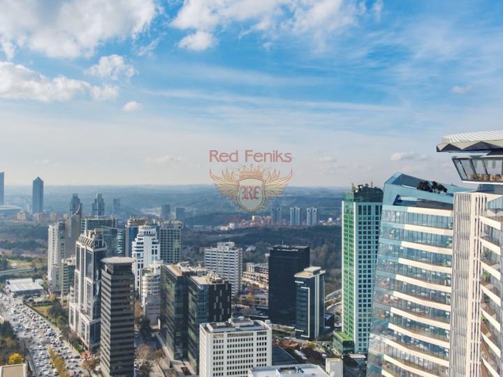12 квартир 1+0 и 1+1 в Коньяалты 300 метрах от пляжа, купить коммерческую в Анталия