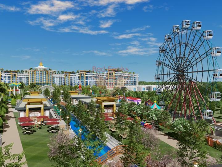 Роскошная вилла 4 + 1 в Оваджике-Фетхие с видом на горы, купить дом в Фетхие