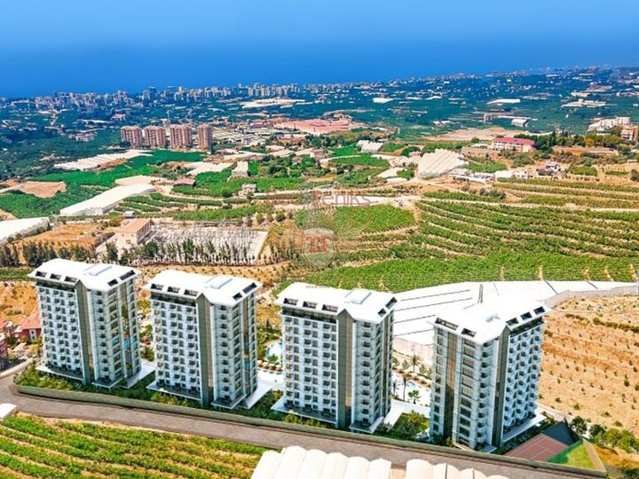 Off plan 2 + 1 Apartment 500 m from Calis Fethiye Beach For Sale, apartments for rent in Fethiye buy, apartments for sale in Turkey, flats in Turkey sale