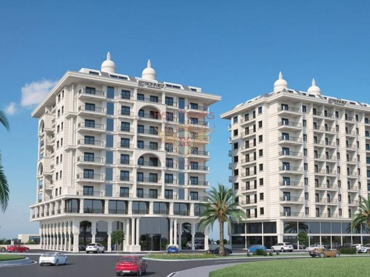 For Sale 2 + 1 Apartments on the first coastline of Fethiye-Calis, apartment for sale in Фетхие, sale apartment in Фетхие, buy home in Turkey
