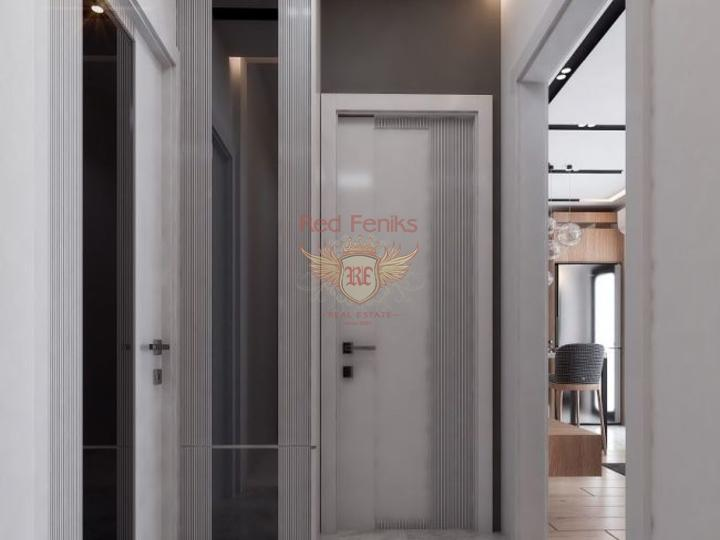 For Sale 3 + 2 apartment in a newly built complex in Fethiye with sea view - On 2 floors, apartment for sale in Fethiye, sale apartment in Fethiye, buy home in Turkey