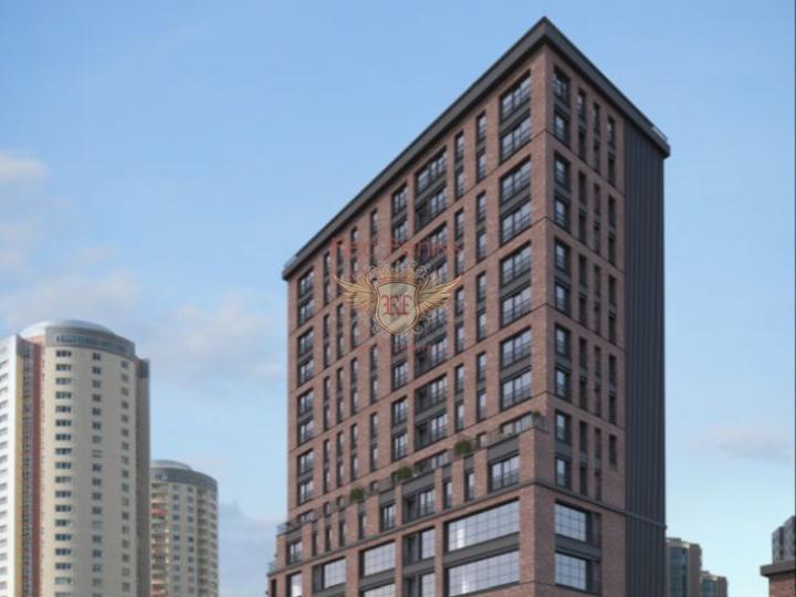Квартира 2+1 у моря в шаговой доступости до пляжа Чалыш-Фетхие, купить квартиру в Фетхие