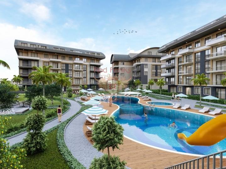 Двухуровневая квартира 2+1 в Чалыше – Фетхие, купить квартиру в Фетхие